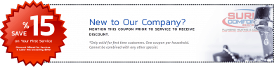 Sure Comfort Services 15% OFF for New Clients
